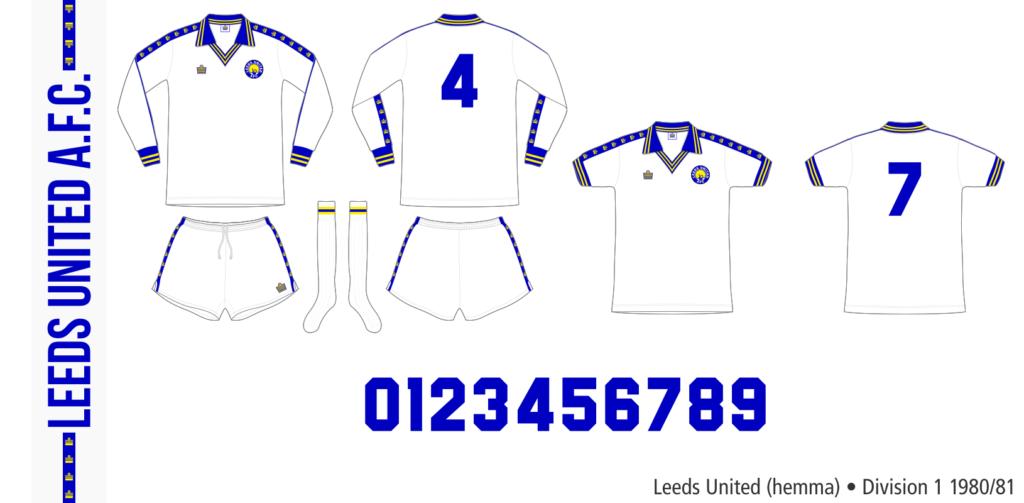 Leeds United 1980/81 (hemma)