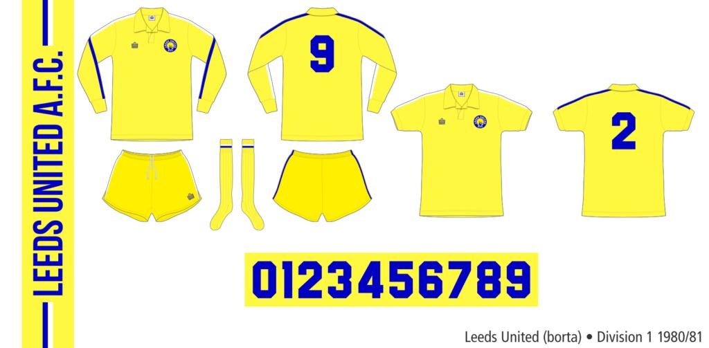 Leeds United 1980/81 (borta)