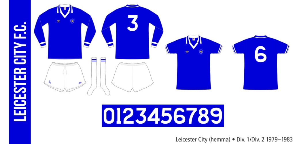 Leicester City 1979–1983 (hemma)