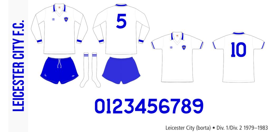 Leicester City 1979–1983 (borta)