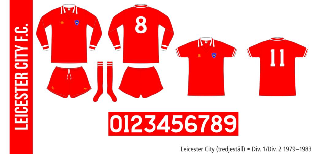 Leicester City 1979–1983 (tredjeställ)