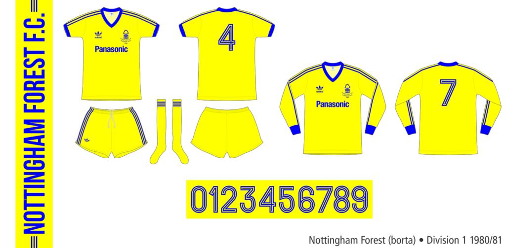 Nottingham Forest 1980/81 (borta)