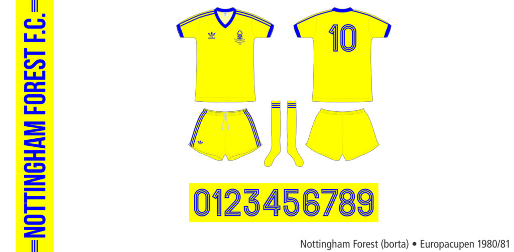 Nottingham Forest 1980/81 (borta, Europacupen)