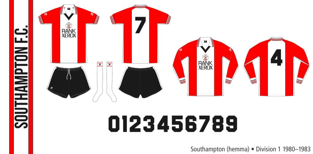Southampton 1980–1983 (hemma)