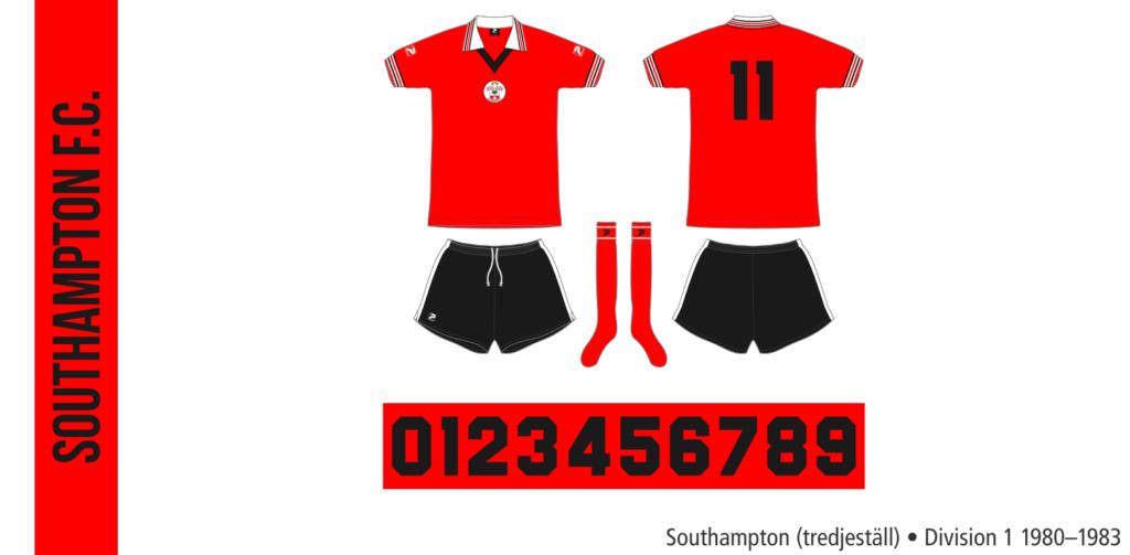 Southampton 1980–1983 (tredjeställ)