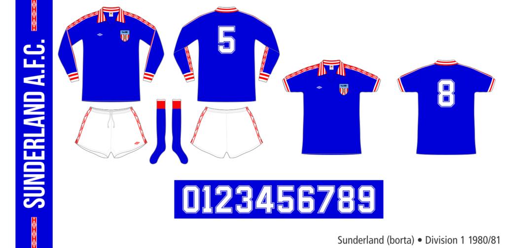 Sunderland 1980/81 (borta)