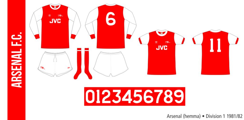 Arsenal 1981/82 (hemma)