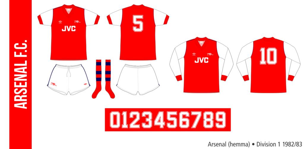 Arsenal 1982/83 (hemma)