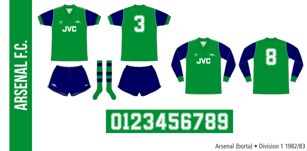 Arsenal 1982/83 (borta)