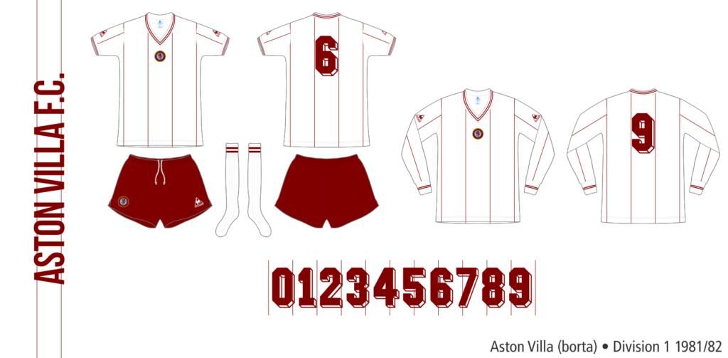 Aston Villa 1981/82 (borta)