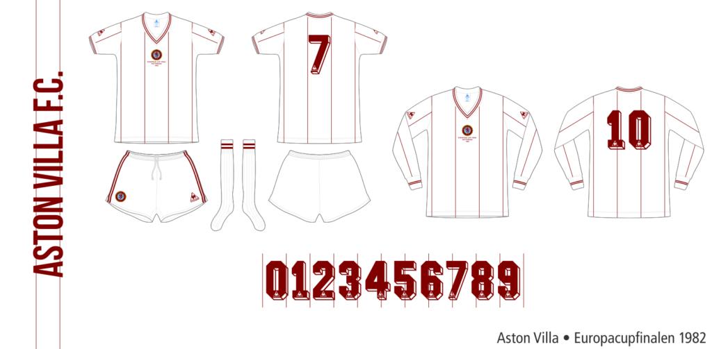 Aston Villa 1981/82 (Europacupfinalen 1982)