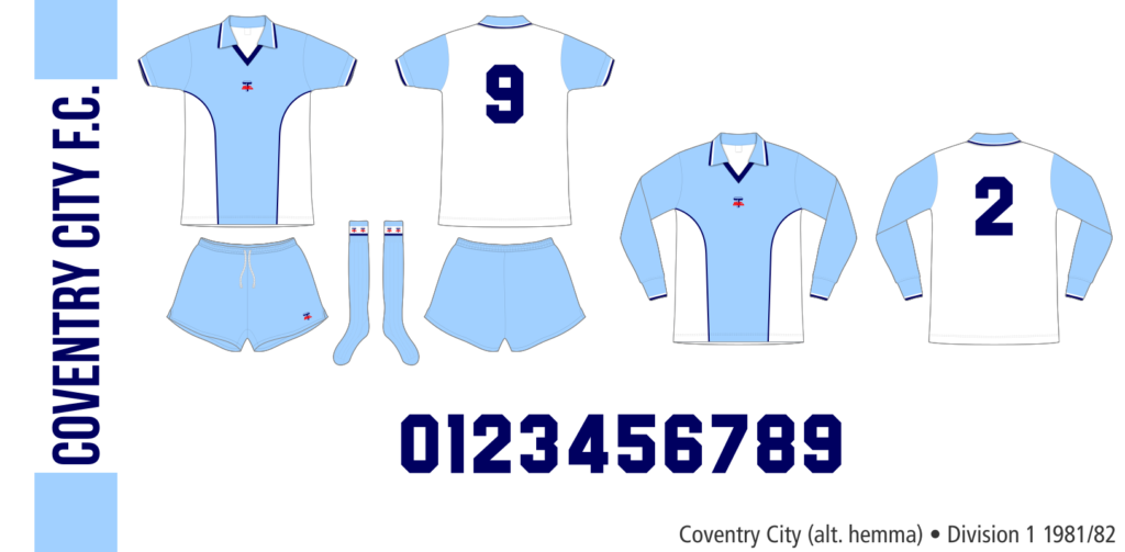 Coventry City 1981/82 (alternativ hemma)