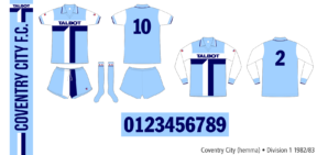 Coventry City 1982/83 (hemma)