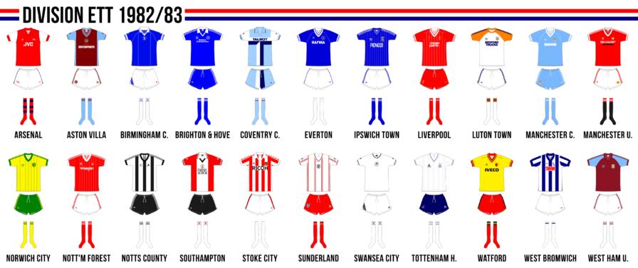 Engelska division ett 1982/83