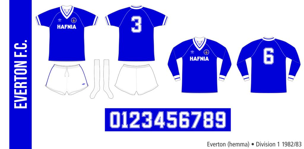 Everton 1982/83 (hemma)