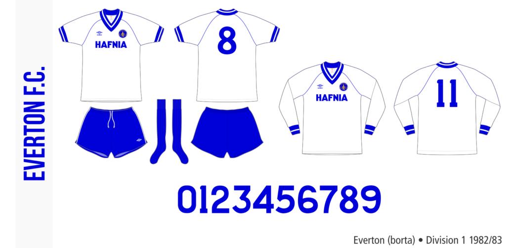 Everton 1982/83 (borta)