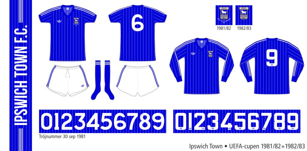 Ipswich Town 1981–1983 (UEFA-cupen)
