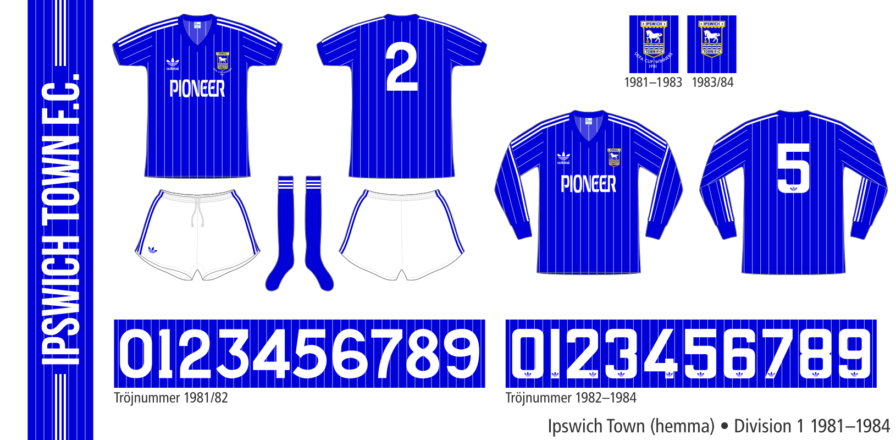 Ipswich Town 1981–1984 (hemma)