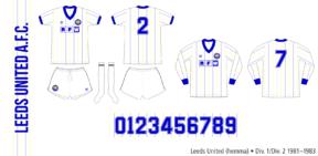 Leeds United 1981–1983 (hemma)