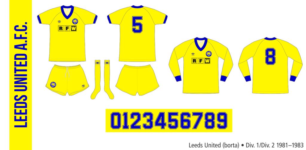 Leeds United 1981–1983 (borta)