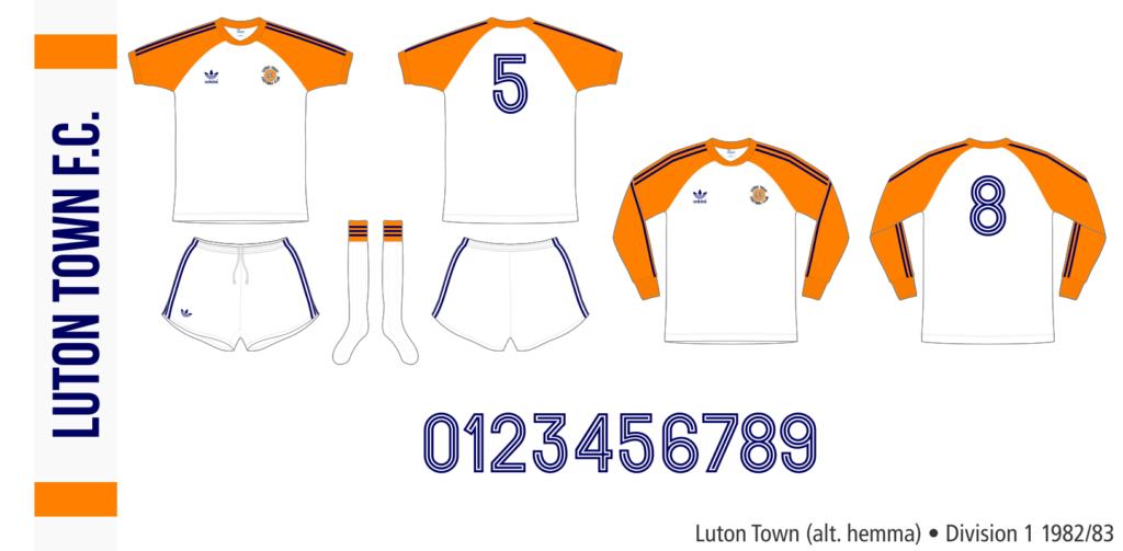 Luton Town 1982/83 (alternativ hemma)