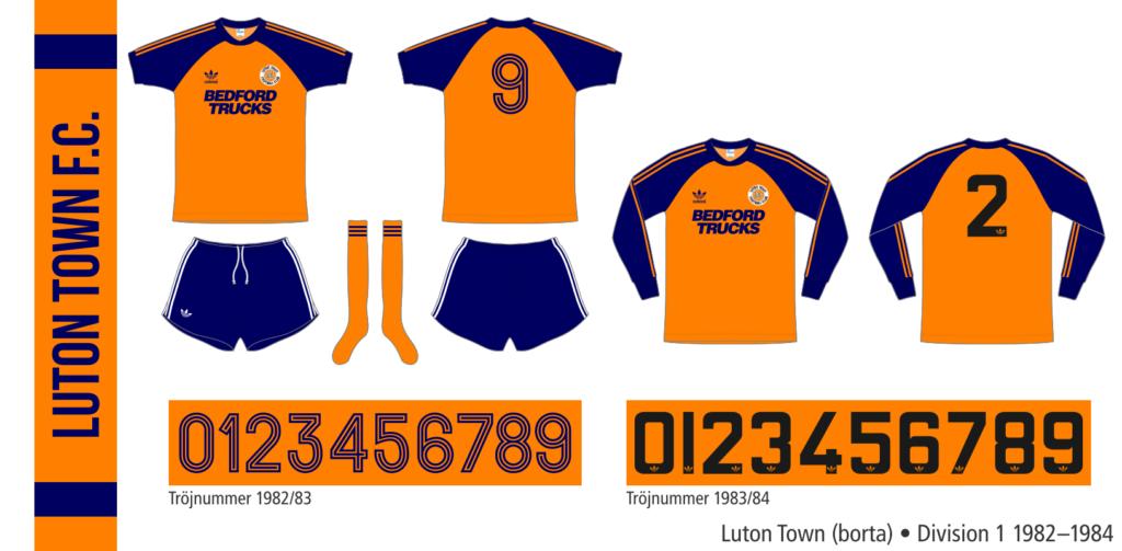 Luton Town 1982–1984 (borta)