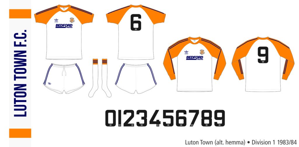 Luton Town 1983/84 (alternativ hemma)