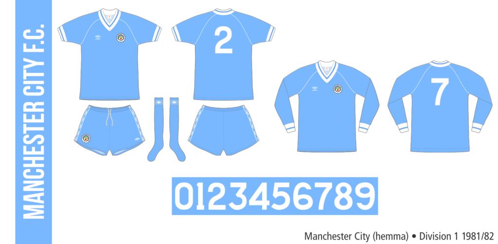 Manchester City 1981/82 (hemma)