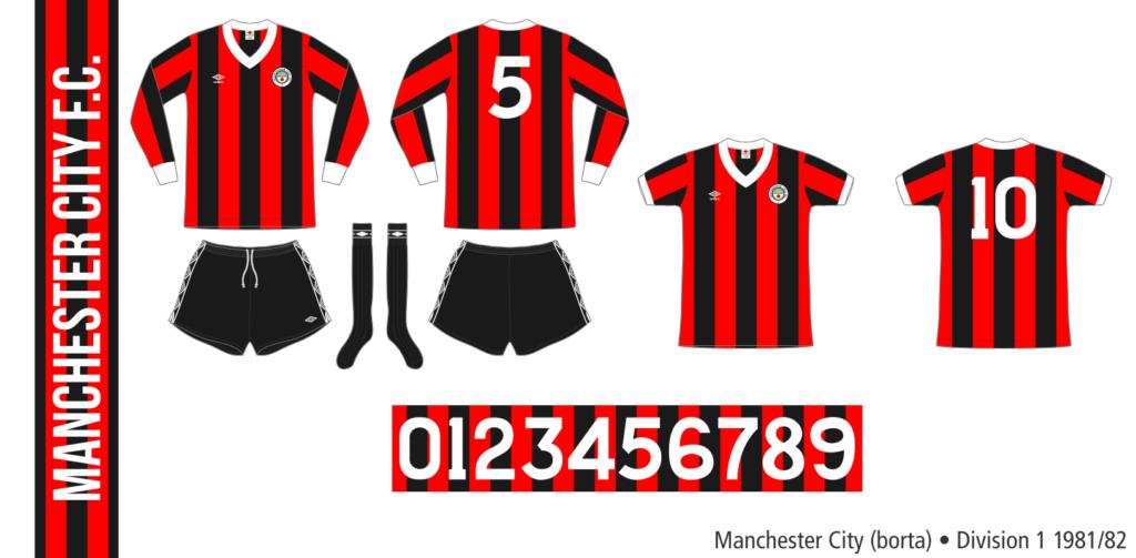 Manchester City 1981/82 (borta)