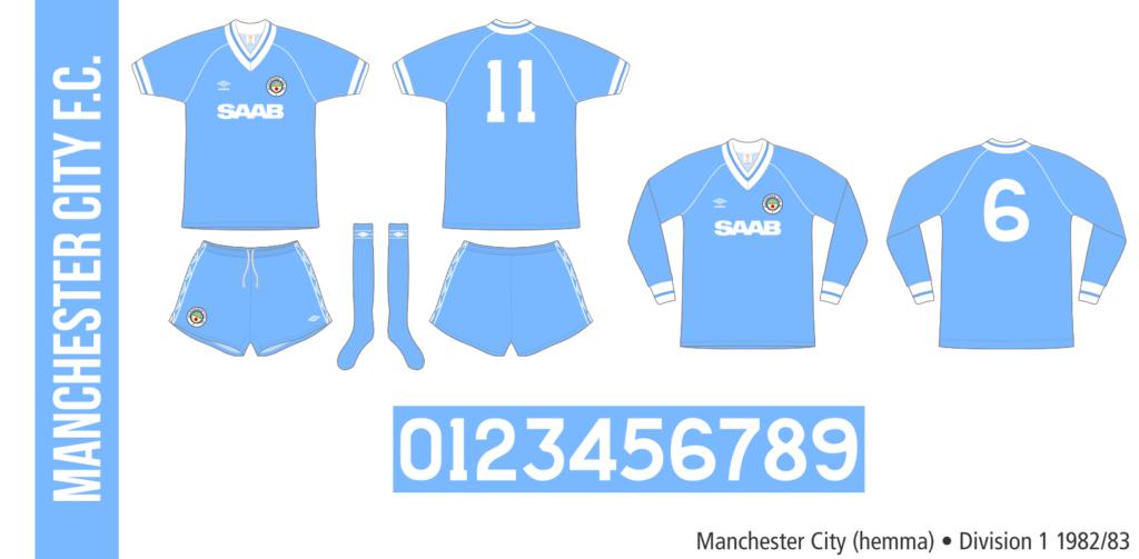 Manchester City 1982/83 (hemma)