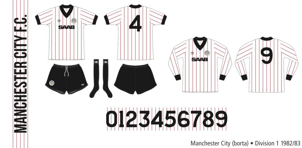 Manchester City 1982/83 (borta)