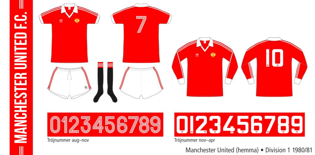 Manchester United 1980/81 (hemma)