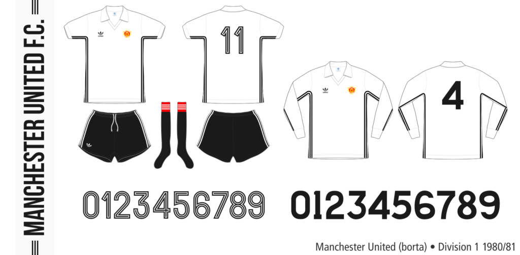Manchester United 1980/81 (borta)