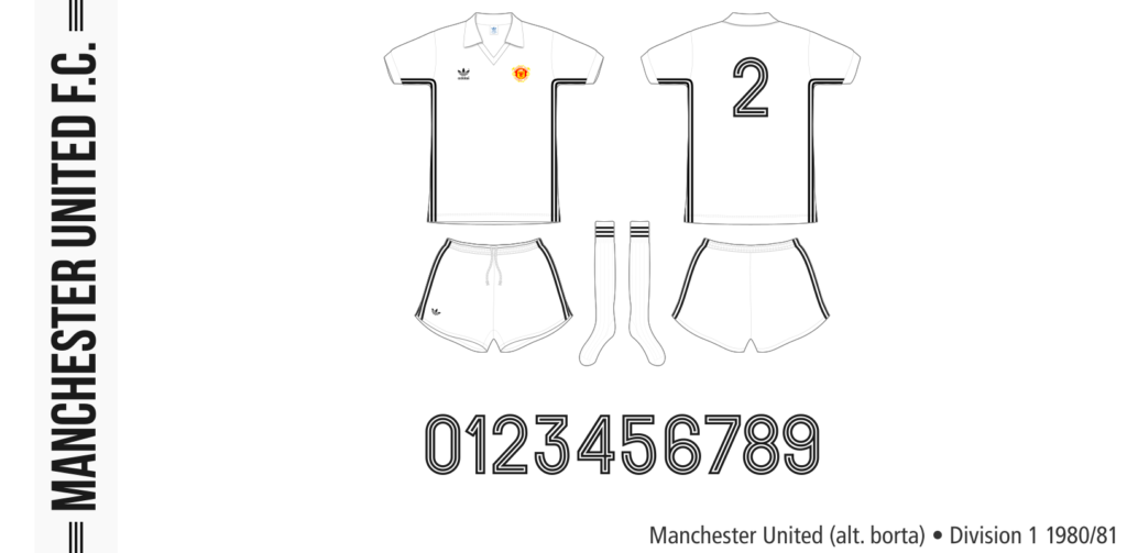 Manchester United 1980/81 (alternativ borta)