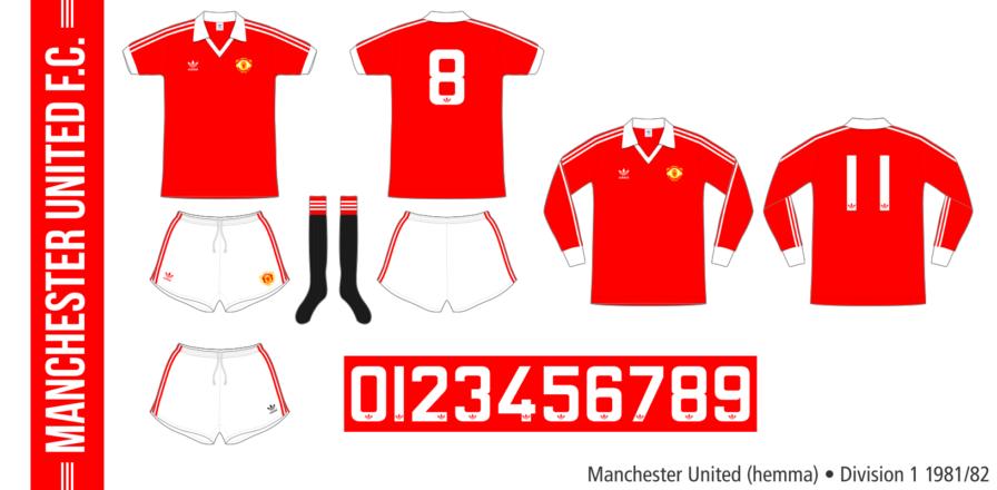 Manchester United 1981/82 (hemma)