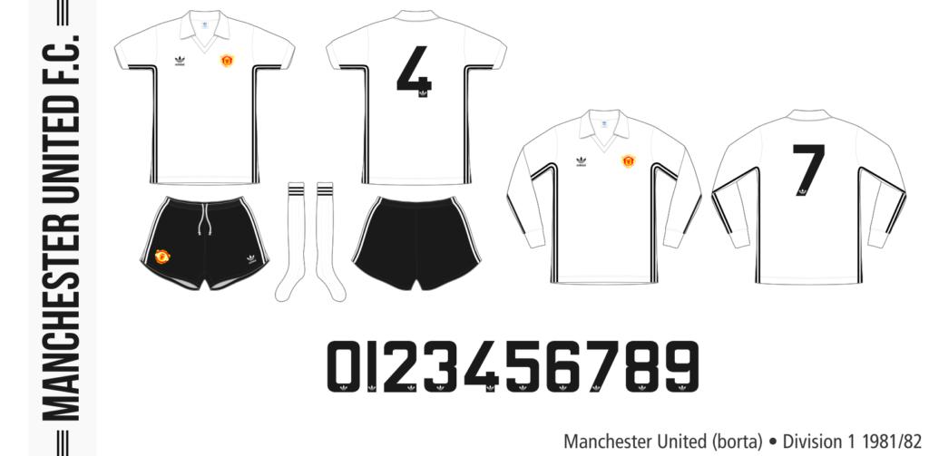 Manchester United 1981/82 (borta)
