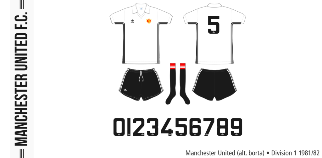 Manchester United 1981/82 (alternativ borta)