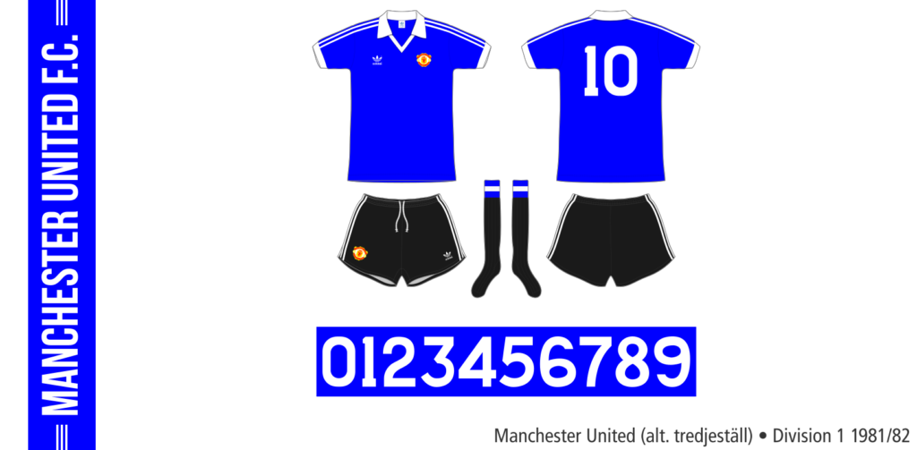 Manchester United 1981/82 (alternativt tredjeställ)