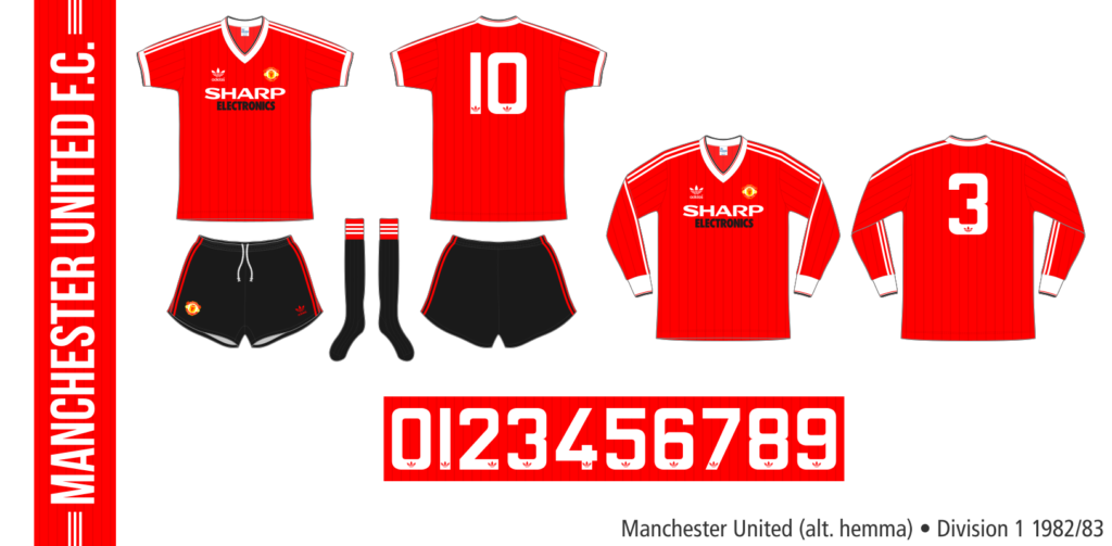 Manchester United 1982/83 (alternativ hemma)