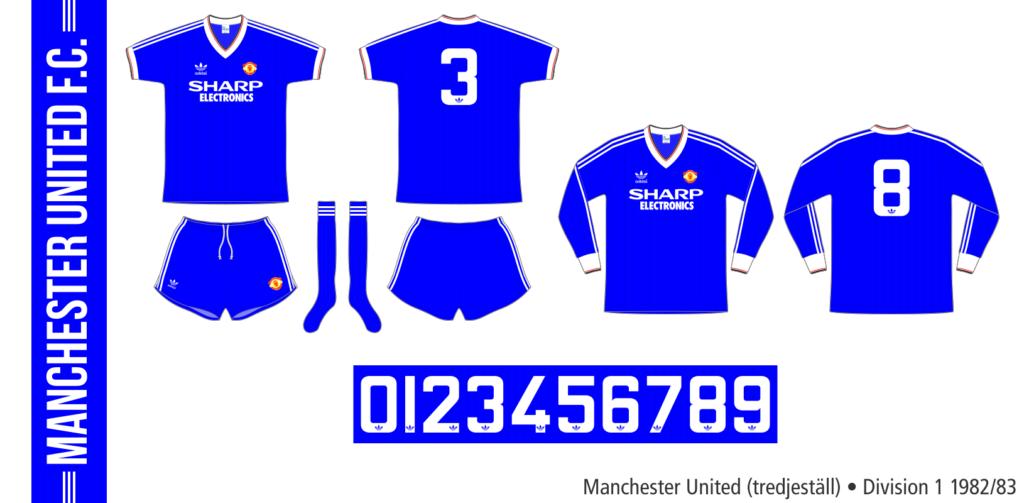 Manchester United 1982/83 (tredjeställ)
