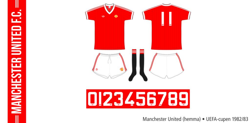 Manchester United 1982/83 (hemma, UEFA-cupen)