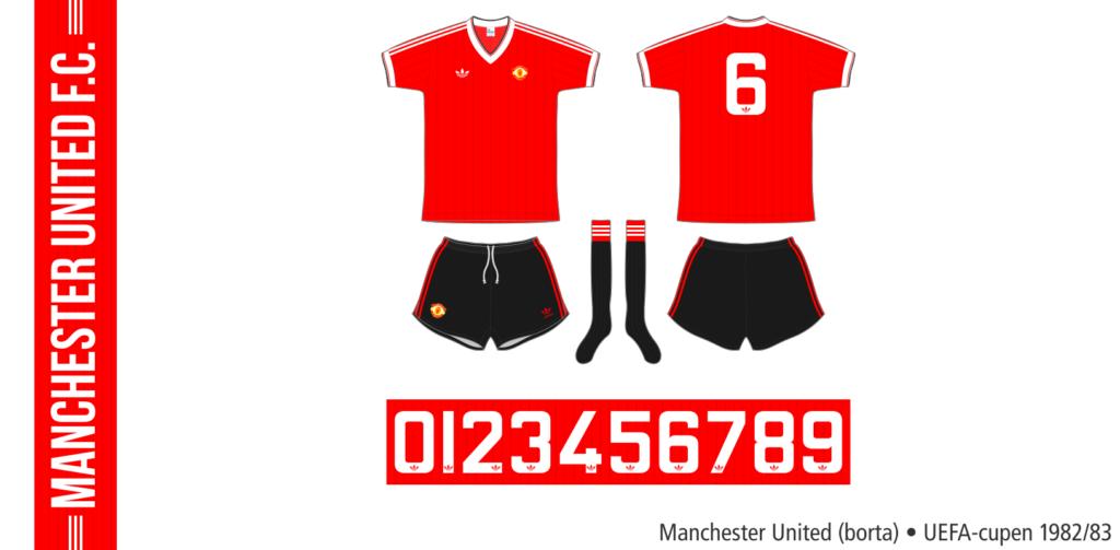 Manchester United 1982/83 (borta, UEFA-cupen)