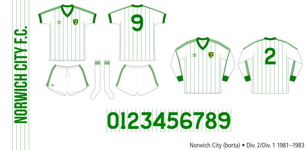 Norwich City 1981–1983 (borta)