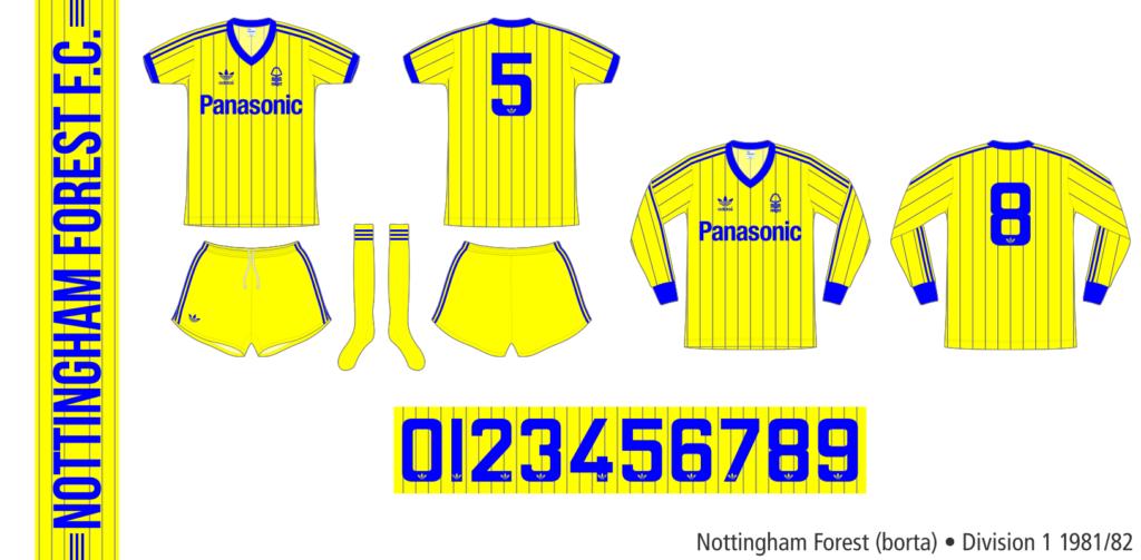 Nottingham Forest 1981/82 (borta)