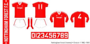 Nottingham Forest 1982–1984 (hemma)
