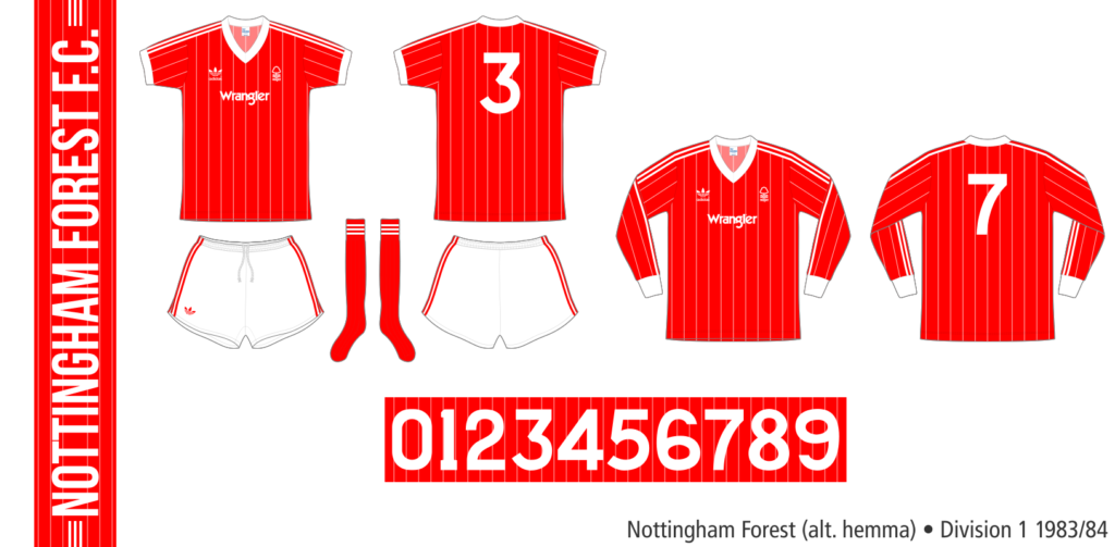 Nottingham Forest 1983/84 (alternativ hemma)