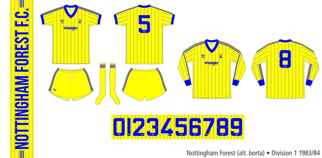 Nottingham Forest 1983/84 (alternativ borta)