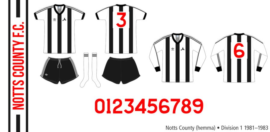 Notts County 1981–1983 (hemma)