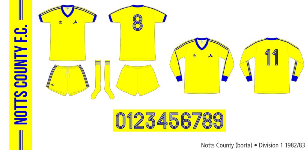 Notts County 1982/83 (borta)