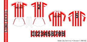 Stoke City 1981/82 (hemma)